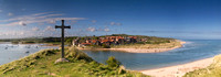 "Alnmouth, Northumberland ------------ 34"" panoramic print on special offer with 40% off, limited time only!!"