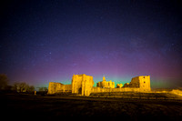 Warkworth Castle Aurora
